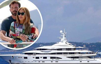 Jennifer Lopez rented $130m yacht for St. Tropez trip with Ben Affleck