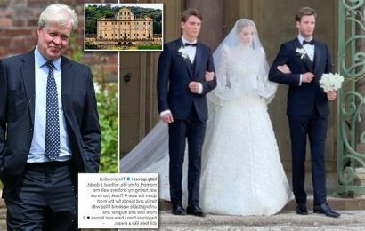 Kitty Spencer says brothers walking down aisle was 'proudest moment'