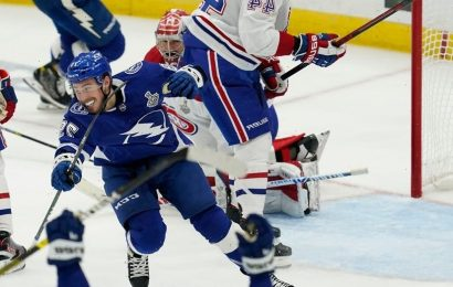 Lightning shut out Canadiens in Game 5 to win second straight Stanley Cup