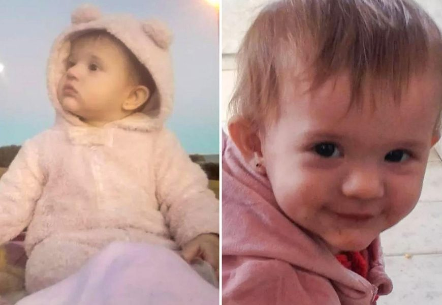 Mum's warning as daughter, 1, left in coma after toppling headfirst into bucket of water while nanny's back was turned