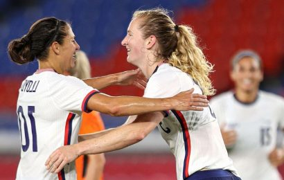 Olympics 2021 live updates: USWNT faces elimination, Djokovic ousted, Schauffele takes the lead