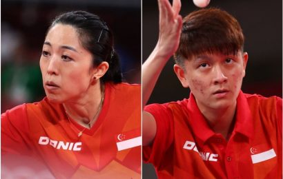 Olympics: Singapore's Yu Mengyu through to table tennis' 3rd round but Clarence Chew is knocked out