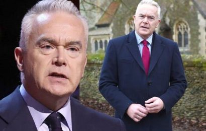 'One of the very best' Huw Edwards reacts as colleague quits BBC after 39 YEARS