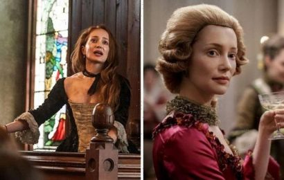 Outlander blunder: Fans spot historical inaccuracy with Geillis Duncan trial