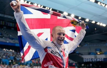 Peaty looses months of emotion in 57 seconds with Tokyo gold