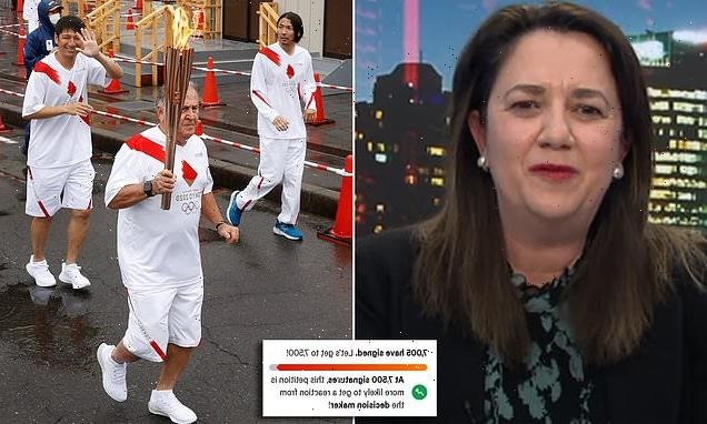 Petition demands Annastacia Palaszczuk be banned from Tokyo Olympics