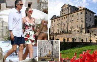 Princess Diana's niece Lady Kitty Spencer, 30, marries billionaire Michael Lewis, 62, in lavish Italian ceremony