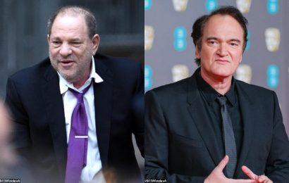 Quentin Tarantino Regrets Not Having the Uncomfortable Conversation With Harvey Weinstein