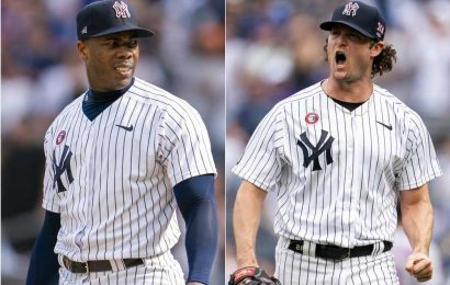 Rare win doesn't change Yankees' Gerrit Cole-Aroldis Chapman problem