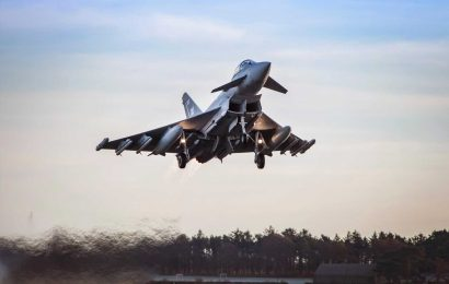 Royal Air Force fighter jets will swoop on motorways, race tracks and car parks to prepare for surprise attack by Russia