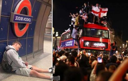 Schools & firms to open late on Monday as fans nurse hangovers after Sunday's Euro 2020 final amid Bank Holiday calls