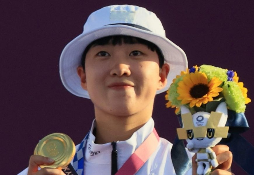 South Korea fans support Olympic gold medallist An San after online hate and sexist abuse because of her hairstyle