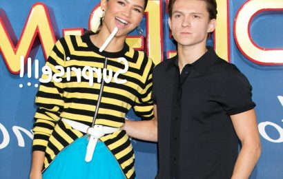 Twitter Absolutely FREAKS OUT After Pictures Surface Of Tom Holland & Zendaya Making Out!