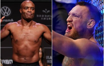 UFC legend Anderson Silva snubs Conor McGregor and Ronda Rousey as he names his MMA Mount Rushmore – but includes Khabib