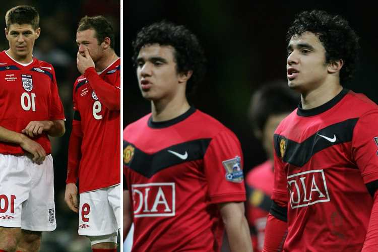 Wayne Rooney told Man Utd twins Rafael and Fabio that Steven Gerrard 'HATED' them to fire them up for Liverpool clashes