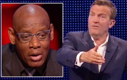 'Ruined it for everyone' Bradley Walsh in row with Shaun Wallace after The Chase slip-up