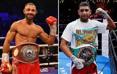 Amir Khan finally set to face Kell Brook in Christmas fight as Brit rivals finalise talks with Eddie Hearn