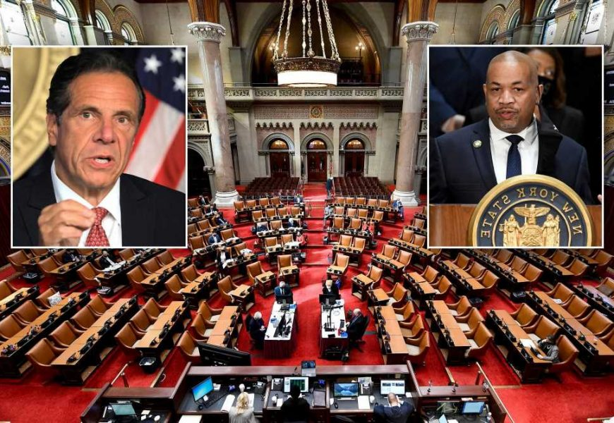 Assembly Democrats plan emergency meeting after 'disturbing' Cuomo sex harass report
