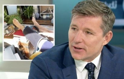 Ben Shephard admits he's 'struggling' with recovery from recent leg operation