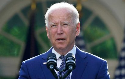 Biden awards medal to cops at Capitol riot, likens them to brave high school brawlers