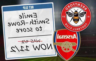Brentford vs Arsenal: Best bets and odds boosts for Premier League opener