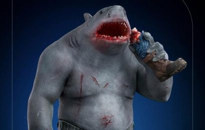 Cool Stuff: King Shark Gets Nom Noms as a Chonky New Statue from Iron Studios