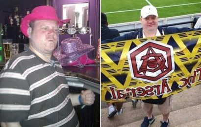 Double-vaccinated England fan, 39, dies of Covid after Wembleyvisit