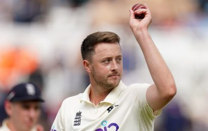 England's Ollie Robinson takes maiden Test five-for but India in control at Trent Bridge