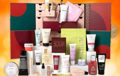 Feel Unique Beauty Advent Calendar 2021 revealed and it's worth over £385