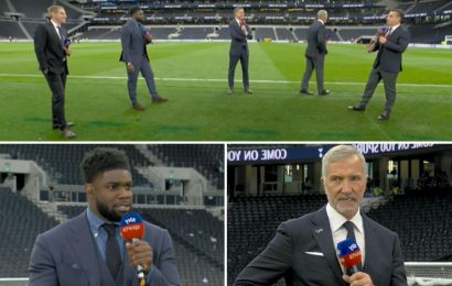 Fuming Graeme Souness turns his back on Micah Richards in row about Paul Pogba and asks 'Can't we talk about Liverpool?'