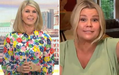 Good Morning Britain viewers brand show 'weirdest ever' as Kerry Katona rants in debate on going to the loo in the sea