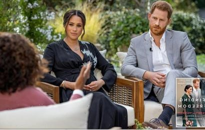 Harry and Meghan 'considered naming royal racist,' book claims