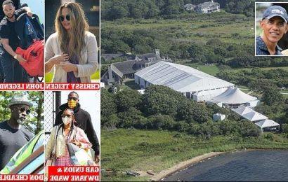 Hollywood stars arrive at Martha's Vineyard for Obama's birthday bash