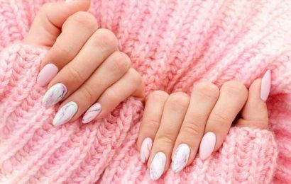 How To Give Yourself A Marble Manicure At Home
