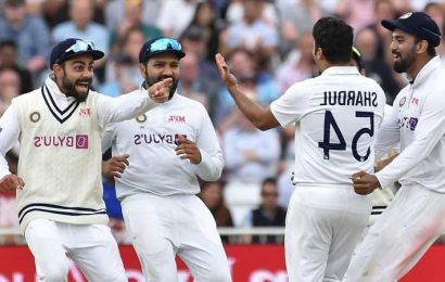 India dominate as England batting falters again on day one of first Test at Trent Bridge