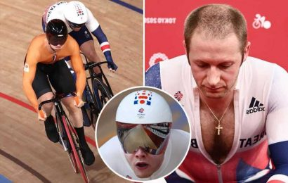 Jason Kenny's 13-year reign as Olympic sprint king over after quarter-final KO but Team GB's Jack Carlin in semis