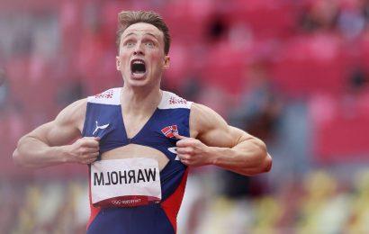 Karsten Warholm: New Olympic champion criticises 'b*******' super spikes