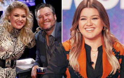 Kelly Clarkson is 'ready to start dating' amid nasty divorce- and is enlisting Blake Shelton to help her find a new man