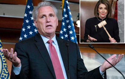 Kevin McCarthy under fire for joking about hitting Pelosi with gavel