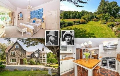 Love nest where Edward VII housed mistress Lillie Langtry up for sale