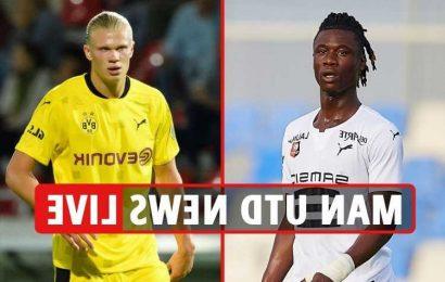 Man Utd transfer news LIVE: Camavinga two-horse race with PSG, United unopposed in Haaland race, Varane latest