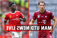 Man Utd transfer news LIVE: Leon Goretzka BOOST, Pogba 'will NOT sign new deal this summer', Trippier LATEST