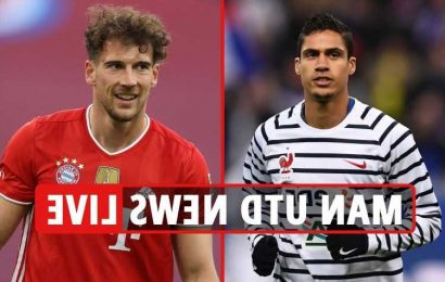 Man Utd transfer news LIVE: Varane set to join after medical, Goretzka eyed, Haaland boost, Trippier move UPDATE