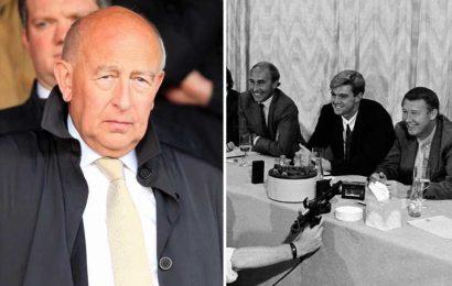 Maurice Watkins dead at 79: Ex-Man Utd director who helped appoint Sir Alex Ferguson passes away