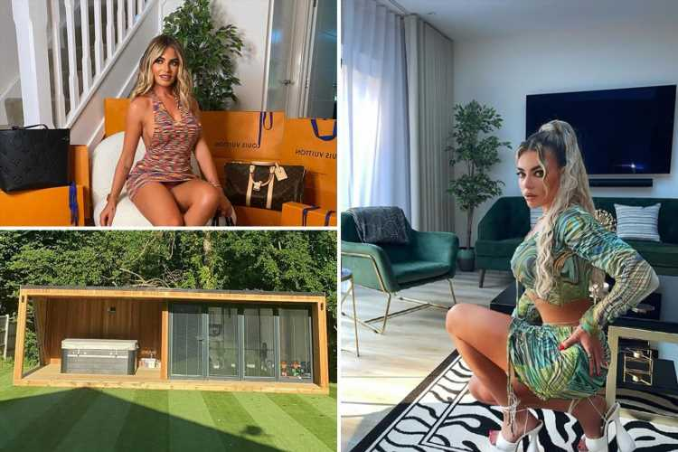 Megan Barton Hanson reveals incredible new home with hot tub in the garden after moving house in lockdown