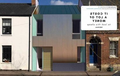 Neighbours furious at 'ugly' ultra-modern copper-clad yoga studio built among Victorian cottages