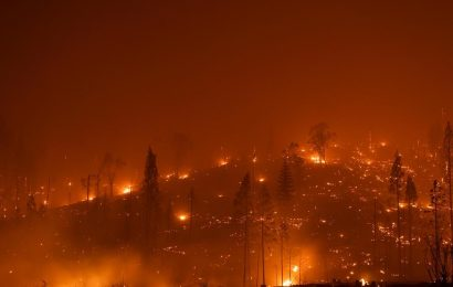 """Satellite video shows the """"explosive growth"""" of the Caldor Fire in California"""