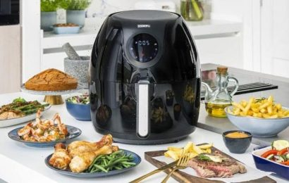 Save 25% on this family-sized air fryer – now under £60