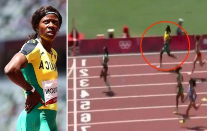 Shericka Jackson out in 200m heats after Jamaican slows up and JOGS over line in huge error by Olympics medal favourite