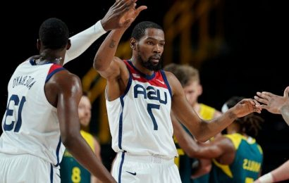 US routs Australia 97-78, to play for more basketball gold